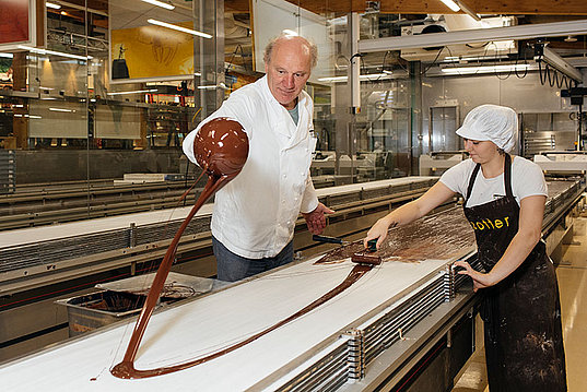 Josef Zotter is producing chocolates