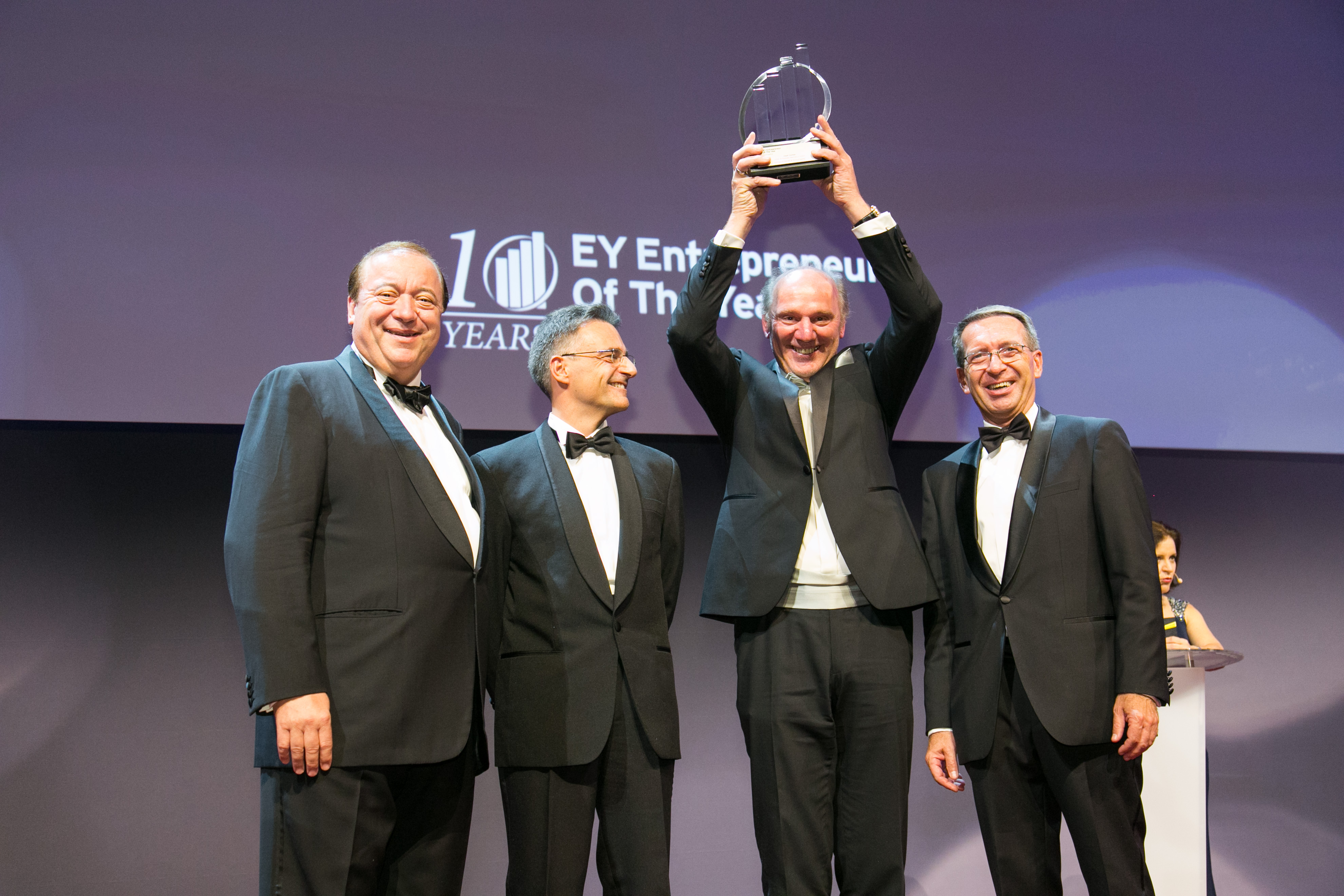 Josef Zotter ist EY Entrepreneur Of The Year 2015