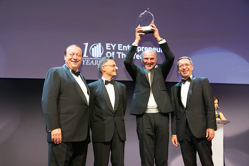 Josef Zotter wins EY Entrepreneur Of The Year 2015