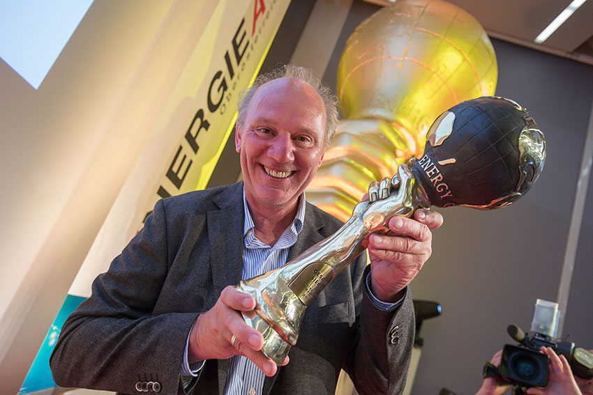 Josef Zotter wins the Energy Globe Austria 2018 Award