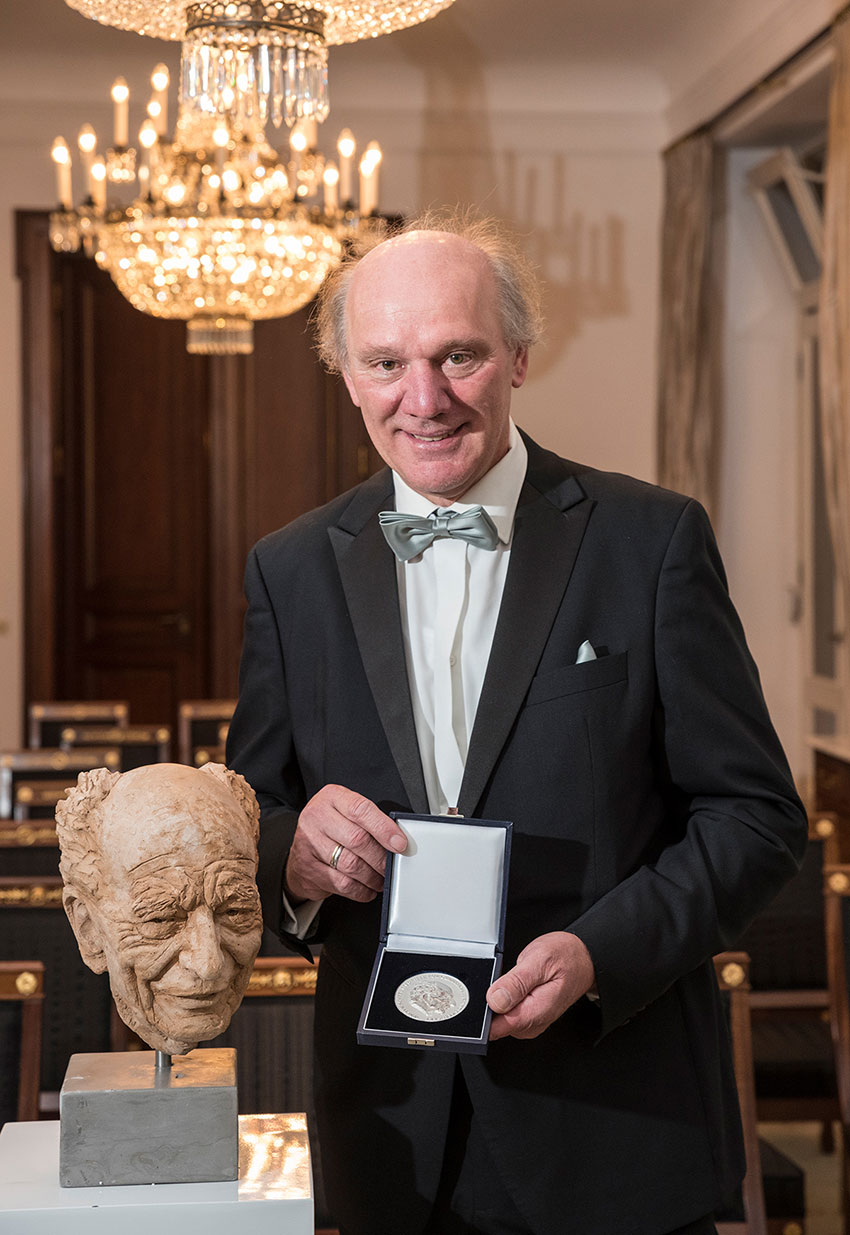 The 2019 Walter Scheel Medal has been awarded to Josef Zotter