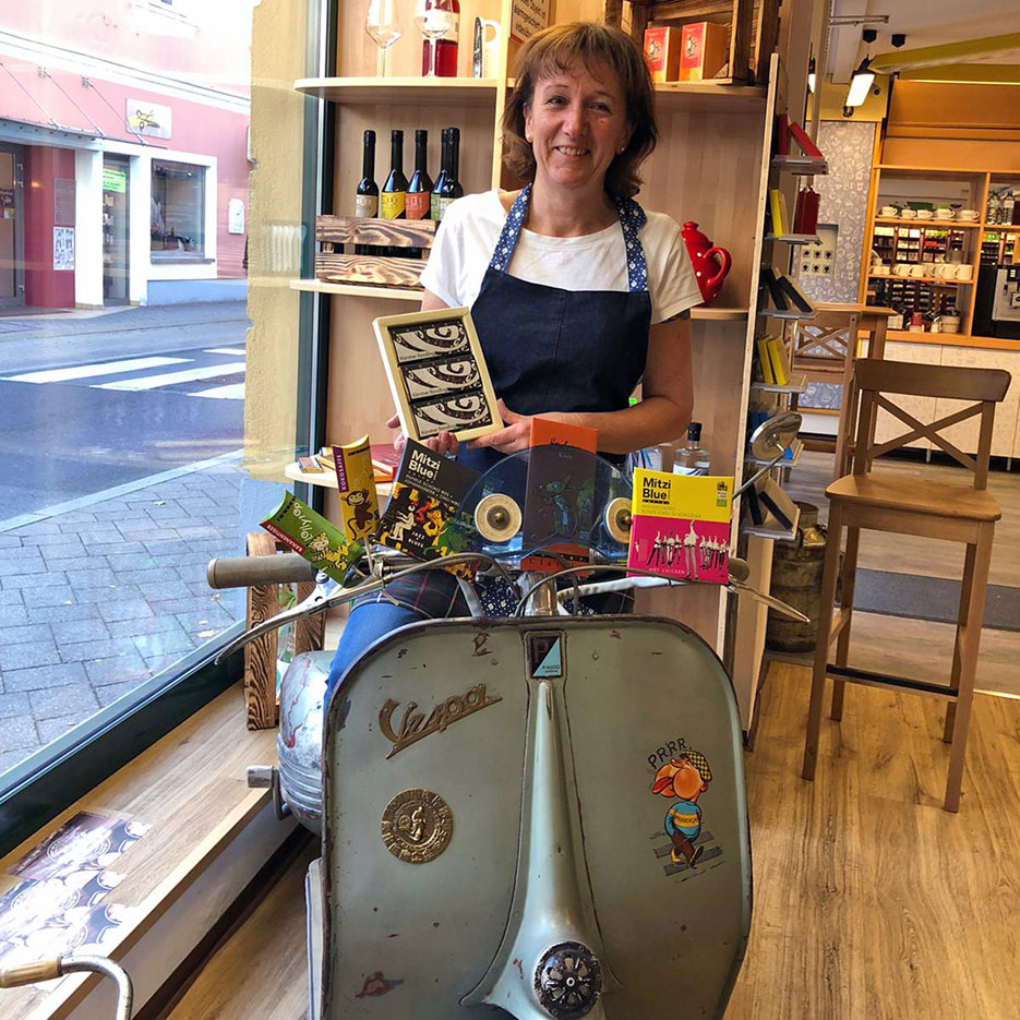 Zotter Shop-in-Shop Partner Astrid's Gourmet Garage