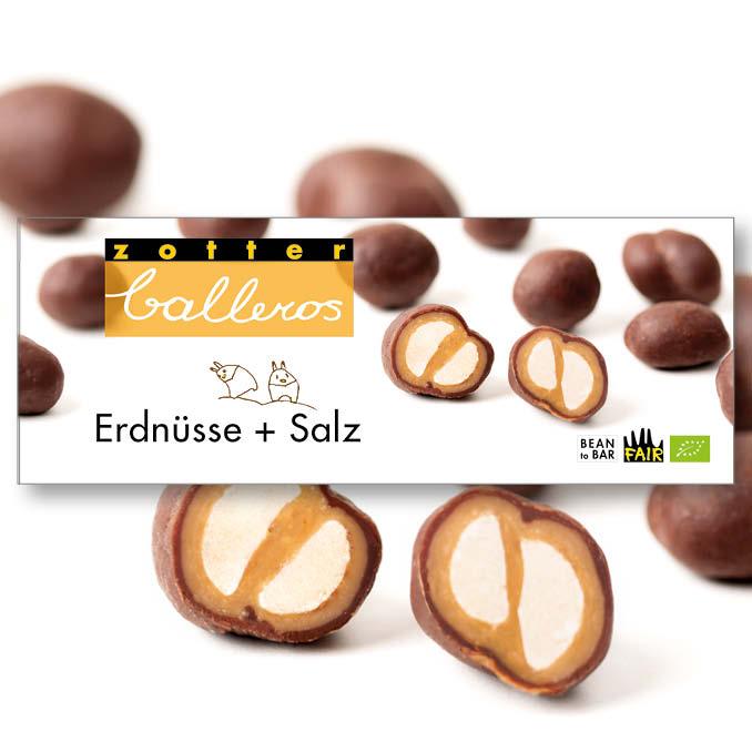 Image of Erdnüsse + Salz