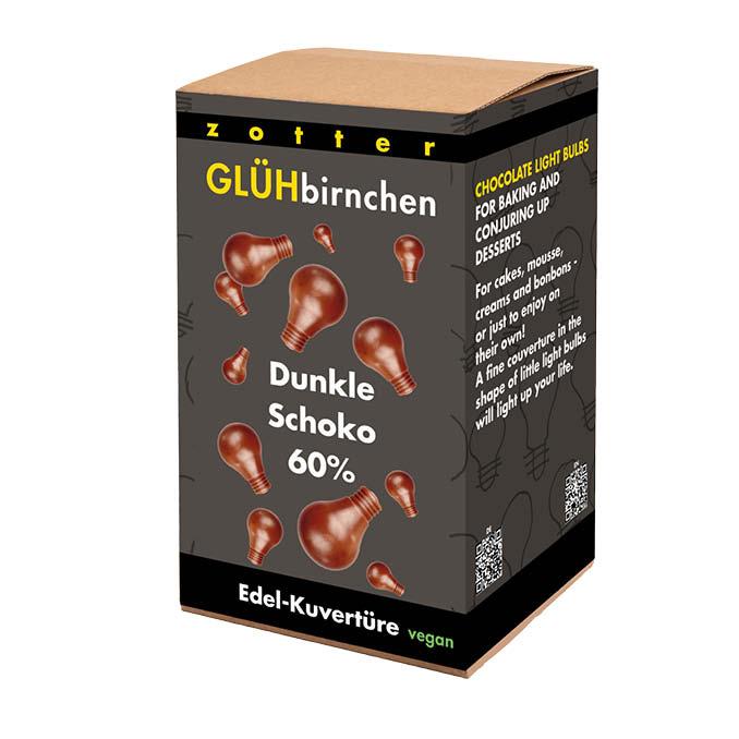 Image of Glühbirnchen - 60% Feinbitter 1300g