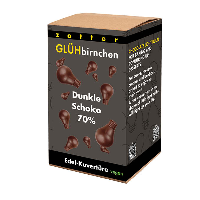 Image of Glühbirnchen - 70% Nobelbitter 1300g