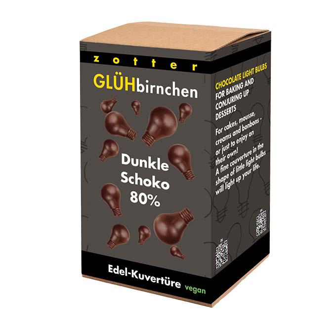 Image of Glühbirnchen - 80% Dunkle Schoko 1300g