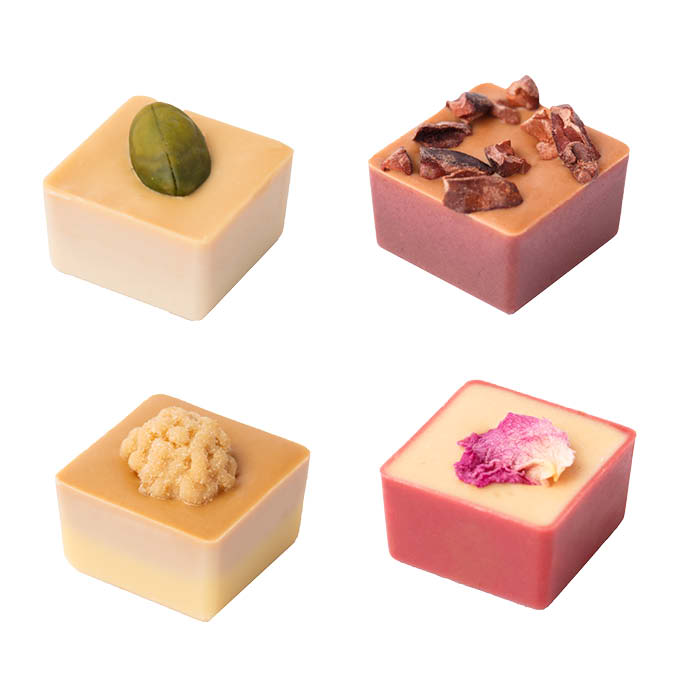 Nougat Cubes, Box of 8