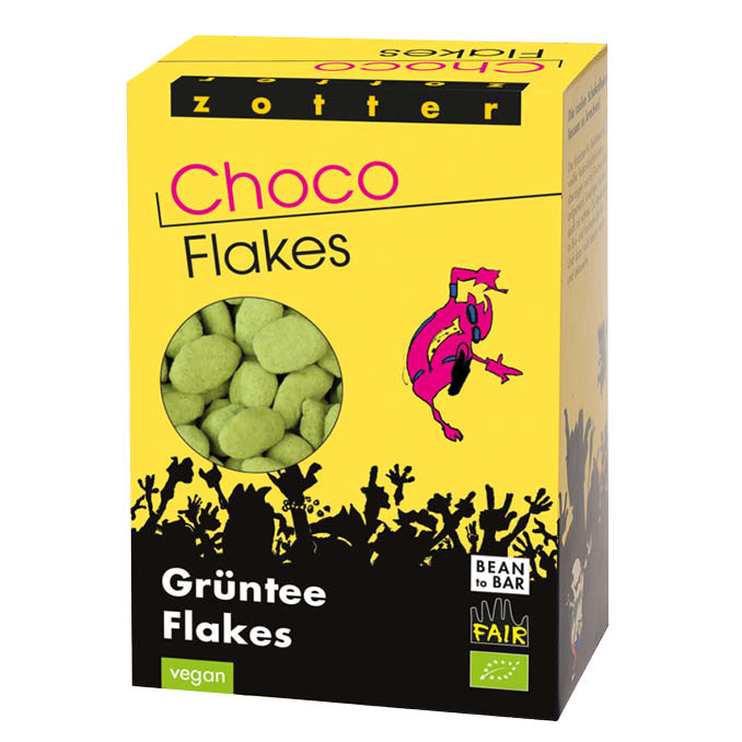 Green tea Flakes