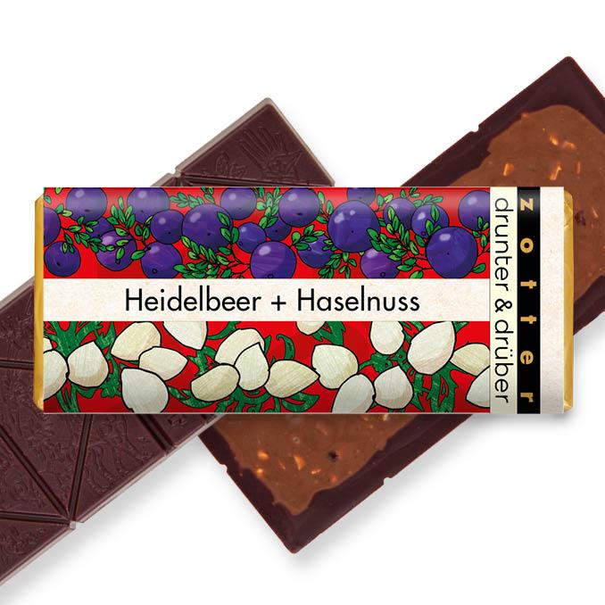 Image of Heidelbeer & Haselnuss