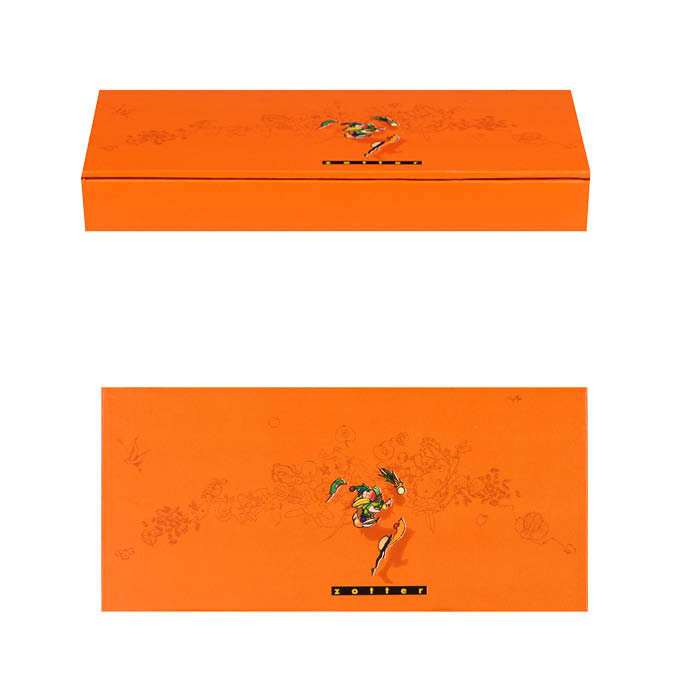 ClipClap-Box Single orange