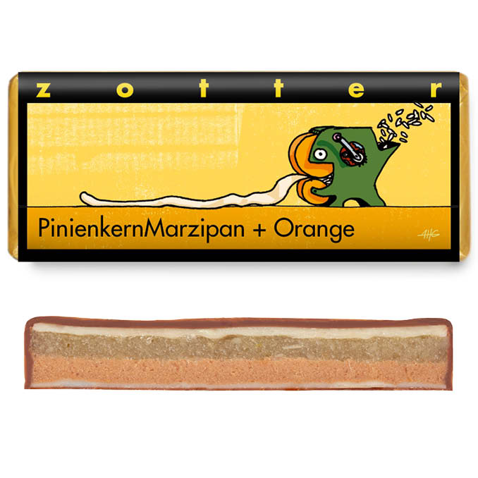 Pine Nut Marzipan + Orange