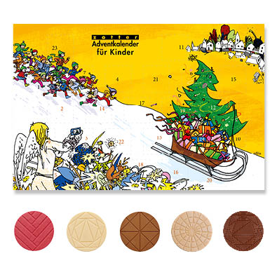 Zotter advent calendar