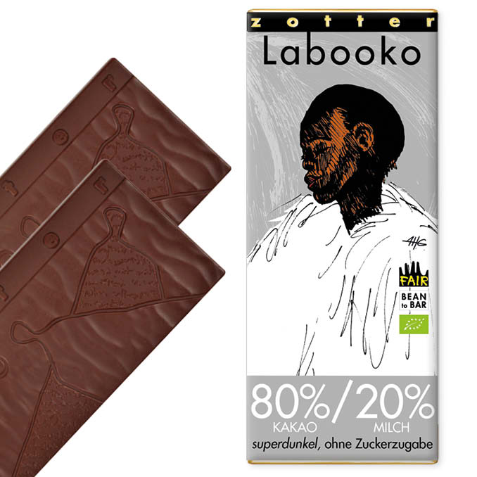 80%/20% Milk Chocolate Super Dark